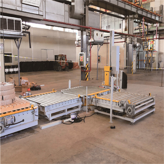 Automatic Pallet Packing Line